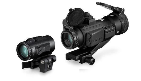 Комплект Vortex Strikefire и магнифер Micro 3X